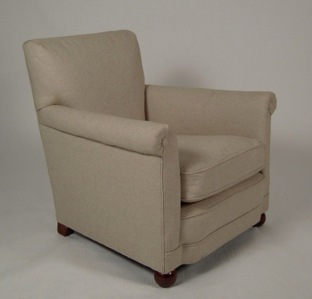 1940s child size upholstered club chair at 1stdibs for Kid sized furniture