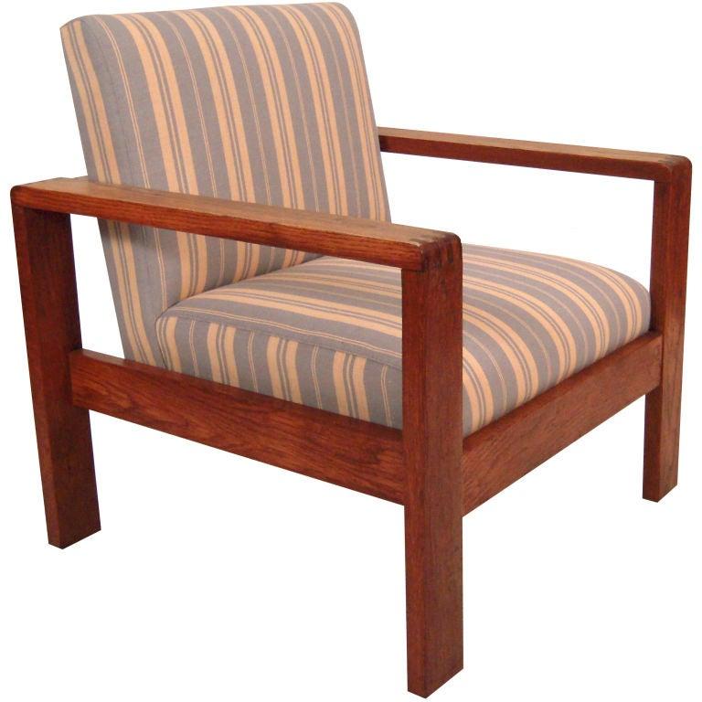 Scandinavian Open Arm Chair Circa 1970s At 1stdibs