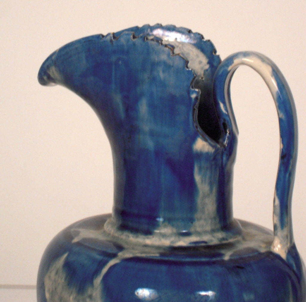 Vintage Mexican Pottery Pitcher From Oaxaca At 1stdibs