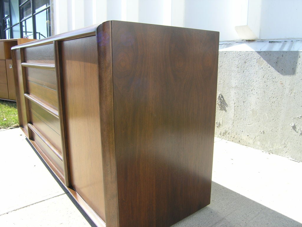 Mid-Century Modern Mahogany Cabinet by T.H. Robsjohn-Gibbings for Widdicomb For Sale