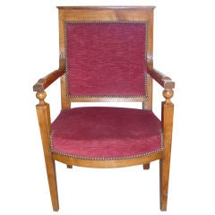 18th Century Period Directoire Armchair