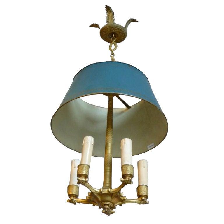 Empire 5 light chandelier