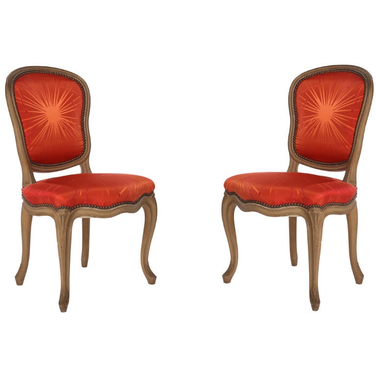 SALE Tony Duquette Phoenix Rising Chair Pair Available At