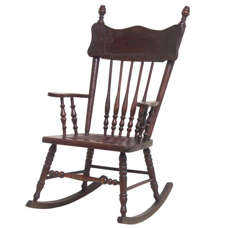 Victorian Child S Rocker At 1stdibs