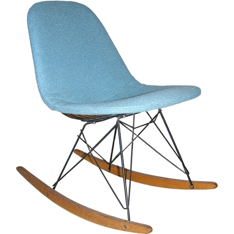 Charles and ray eames rocking chair at 1stdibs - Rocking chair charles eames ...