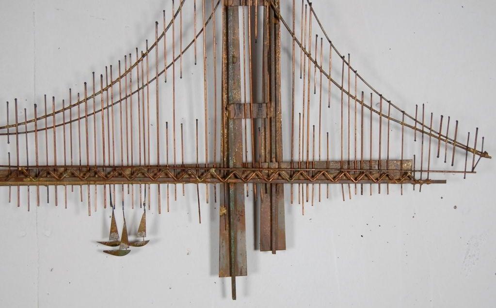 curtis jere golden gate bridge at 1stdibs. Black Bedroom Furniture Sets. Home Design Ideas