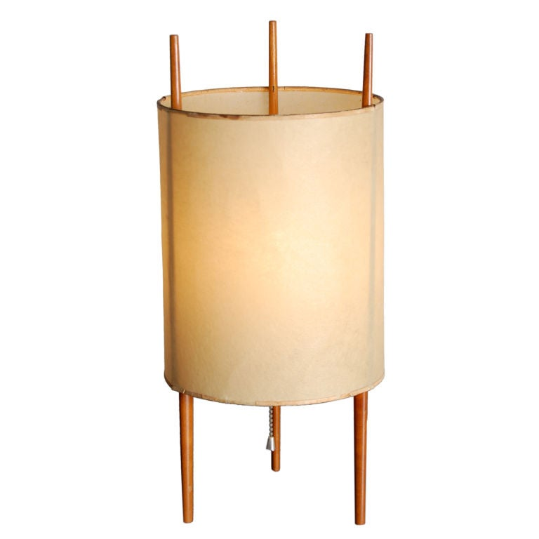 isamu noguchi lamp for knoll at 1stdibs. Black Bedroom Furniture Sets. Home Design Ideas