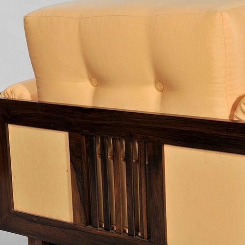 Pair of Brazilian Hardwood 'Quadrado' Chairs 6