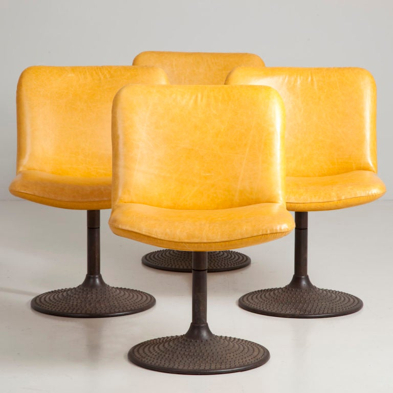 A Set of Four  Asko Designed Caribe Chairs image 2