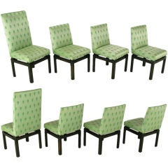 Eight Baker Far East Collection Dining Chairs