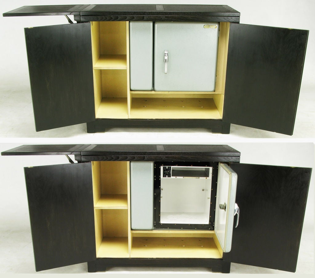 Micheal Taylor Custom Bar Cabinet With Built-In