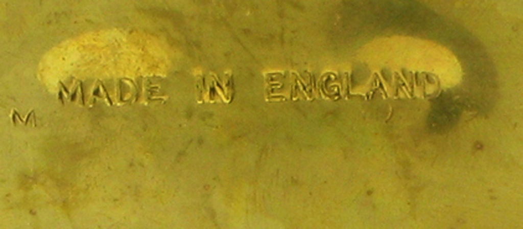 English Spurred Brass Knight's Boot Umbrella Stand 10