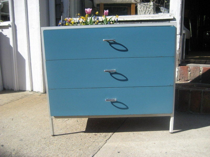 Steel George Nelson Chest from Herman Miller