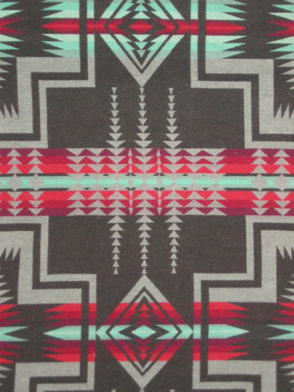 Wool American Indian Trade Blanket.  Pendleton. For Sale