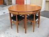 Frem Rojle Table and six chairs