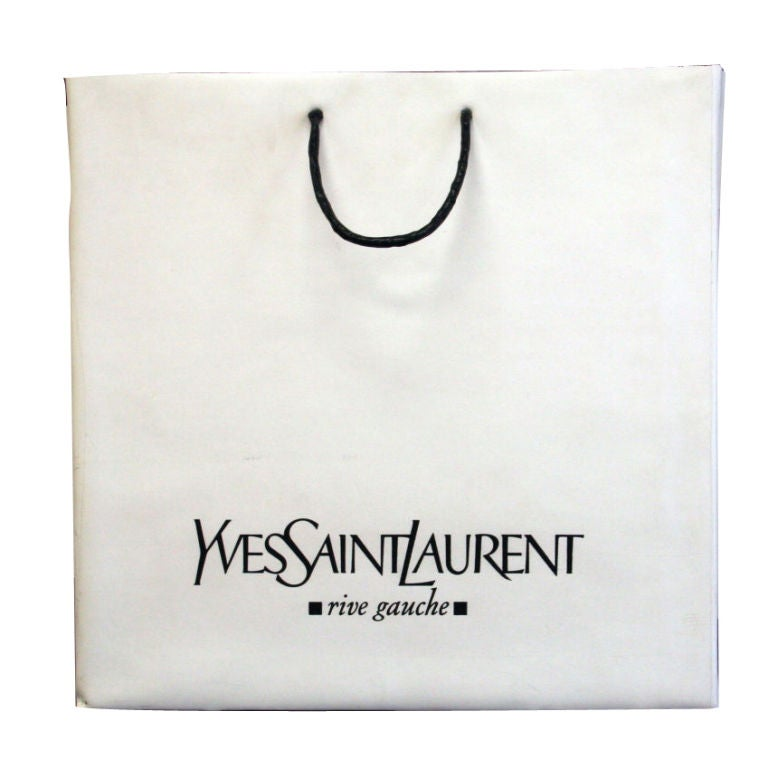 Jonathon Seliger YSL Sculpture Bag 1