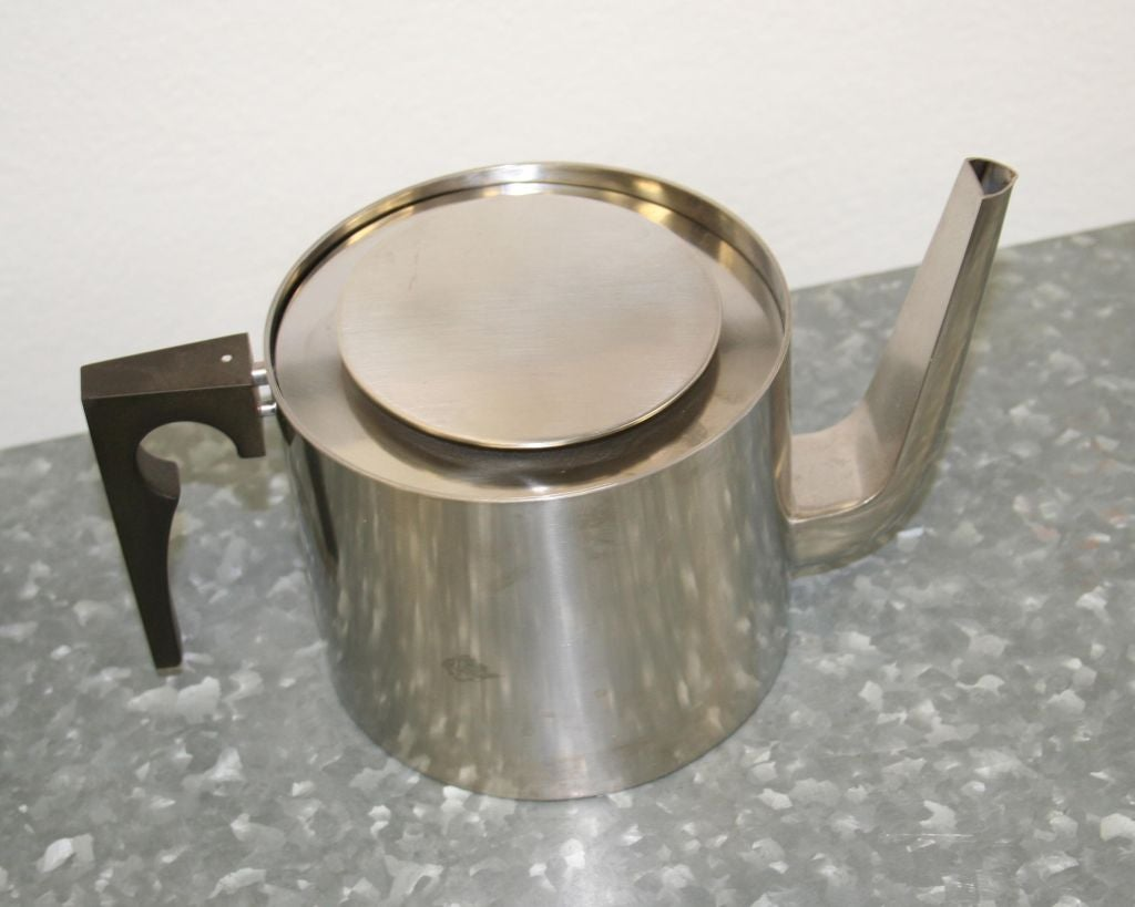 Steel Arne Jacobsen Coffee & Tea Set For Sale