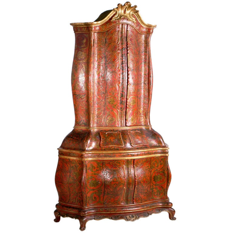 Venetian Display Cabinet