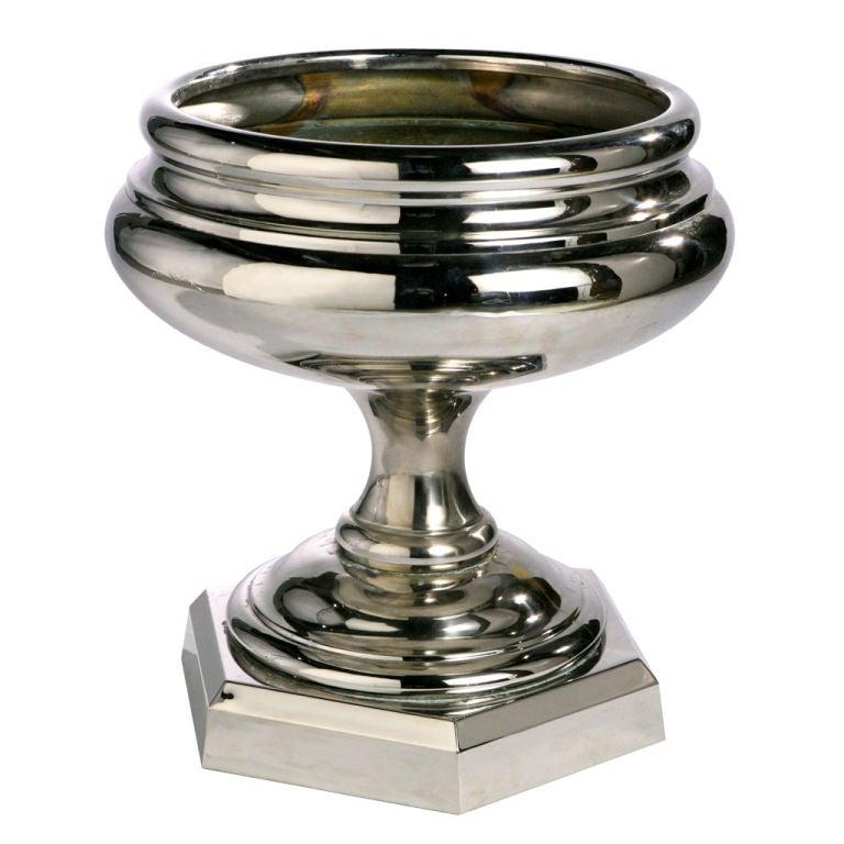 Chrome Centerpiece Bowl