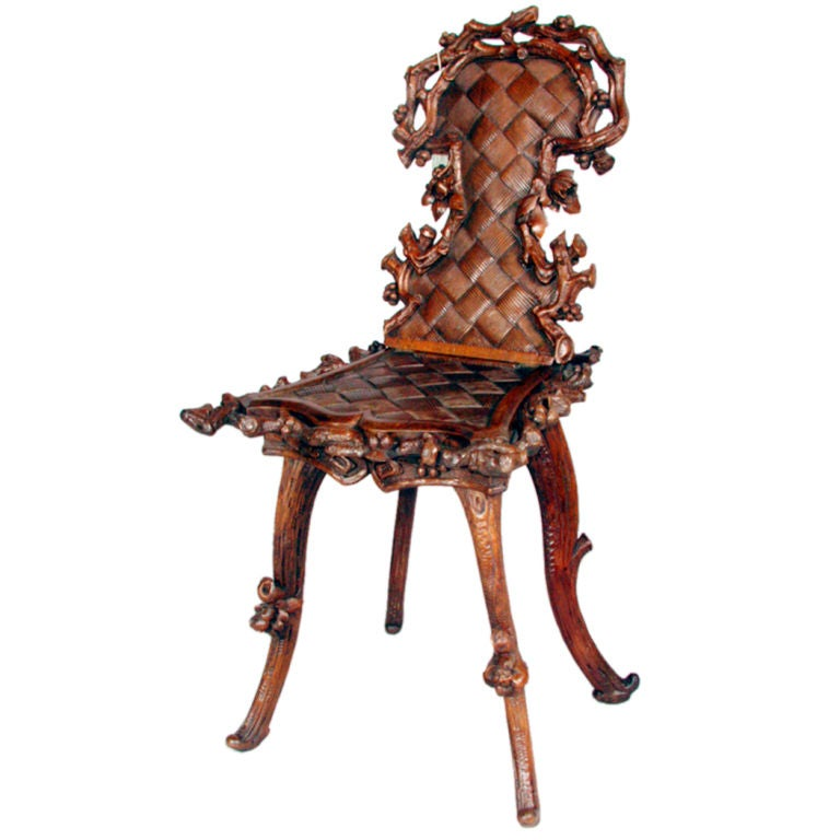 Black Forest Music Chair 1