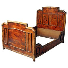 English Bamboo Bed