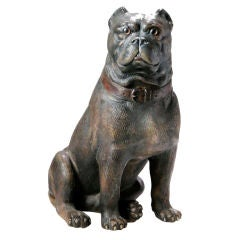 Terracotta Bulldog