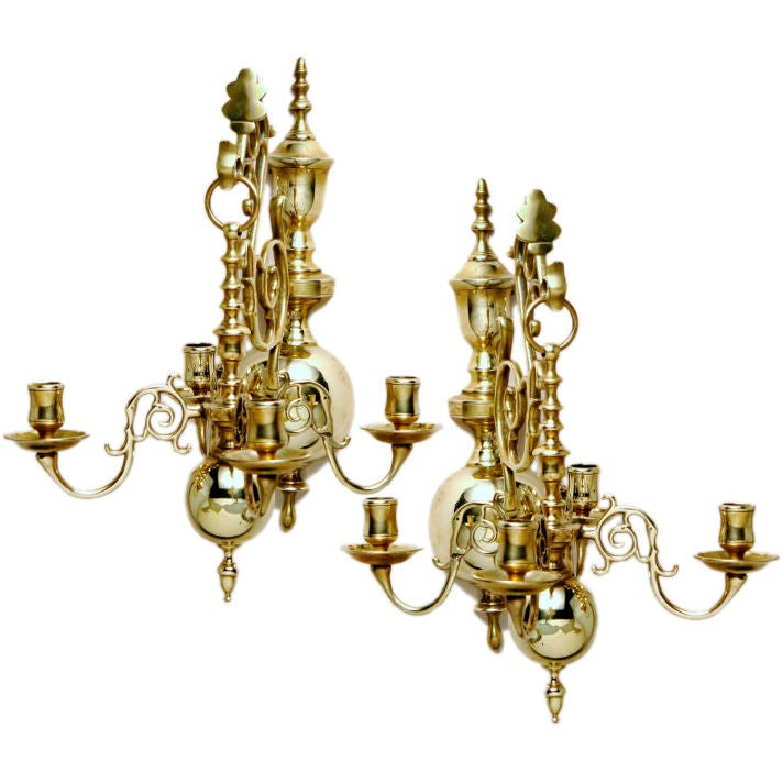 Candelabra Wall Lights : Candelabra Wall Sconces For Sale at 1stdibs