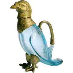 Blue Parrot Pitcher