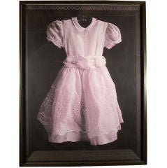 Large Format Photo Of Child's Dress
