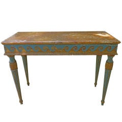 Whimsical Console Table