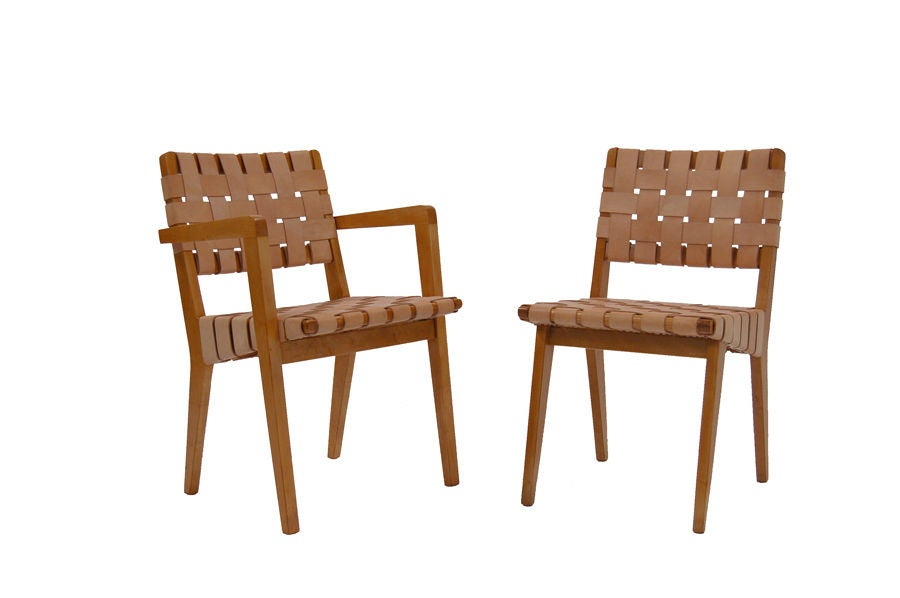 Set of 12 dining chairs by jens risom at 1stdibs - Jens risom dining chairs ...