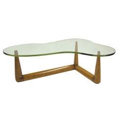 Rare Freeform Coffee Table by T.H. Robsjohn-Gibbings