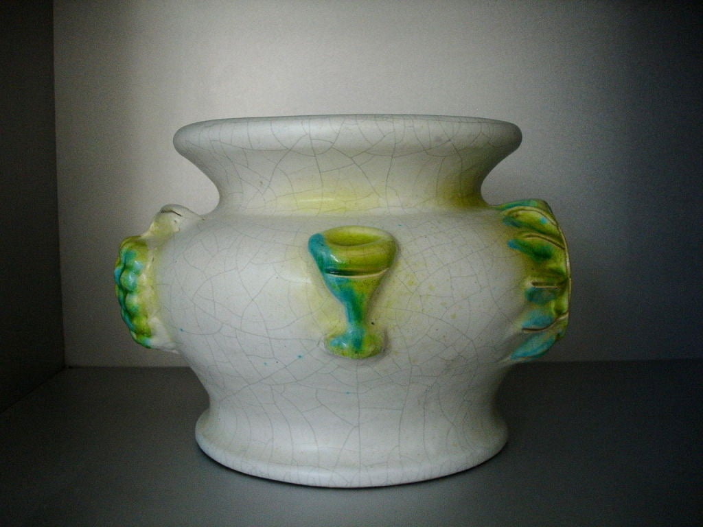 Mid-Century Modern Georges Jouve Vase For Sale