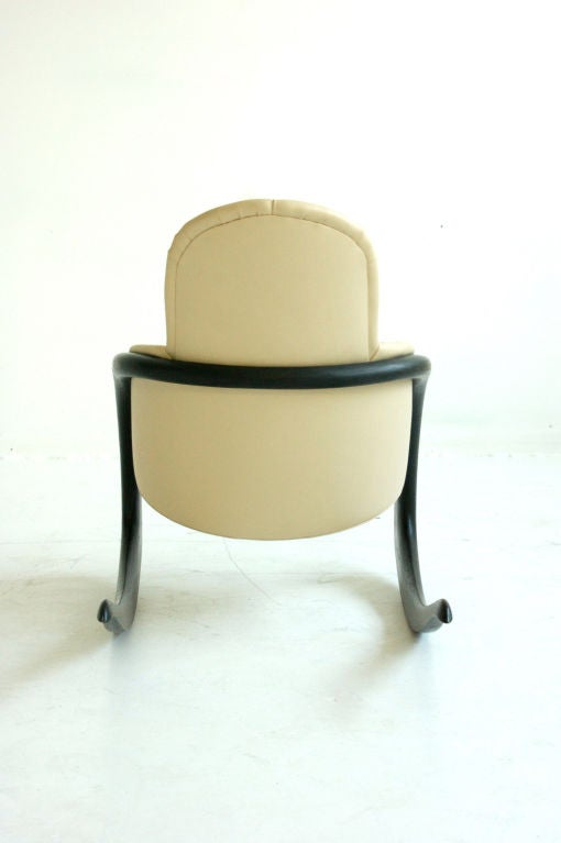 Wendell Castle Crescent Rocker In Good Condition For Sale In Chicago, IL