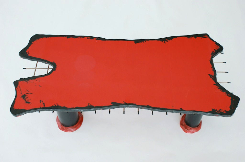 Gaetano Pesce For Cassina Quot Sansone Ii Quot Coffee Table At 1stdibs