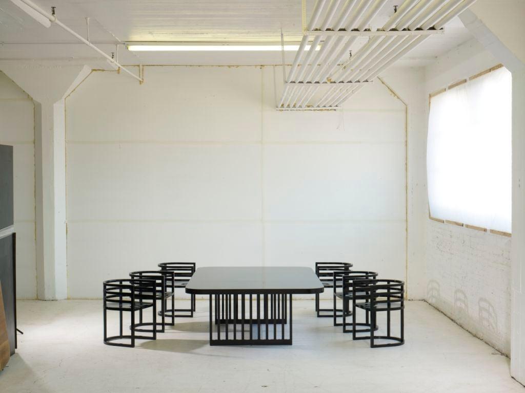 Mid-Century Modern Richard Meier Dining Set