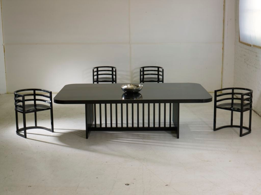 American Richard Meier Dining Set