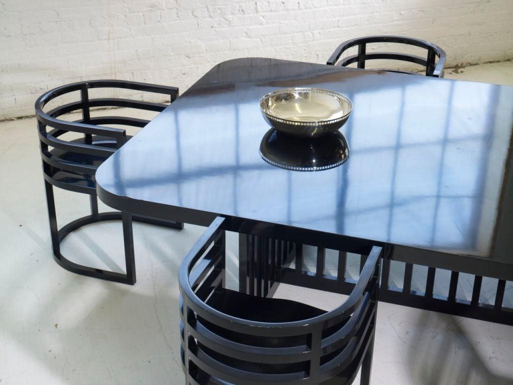 20th Century Richard Meier Dining Set