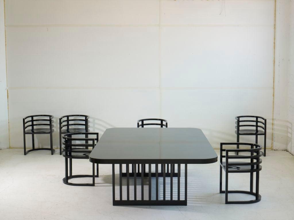 Richard Meier Dining Set 8