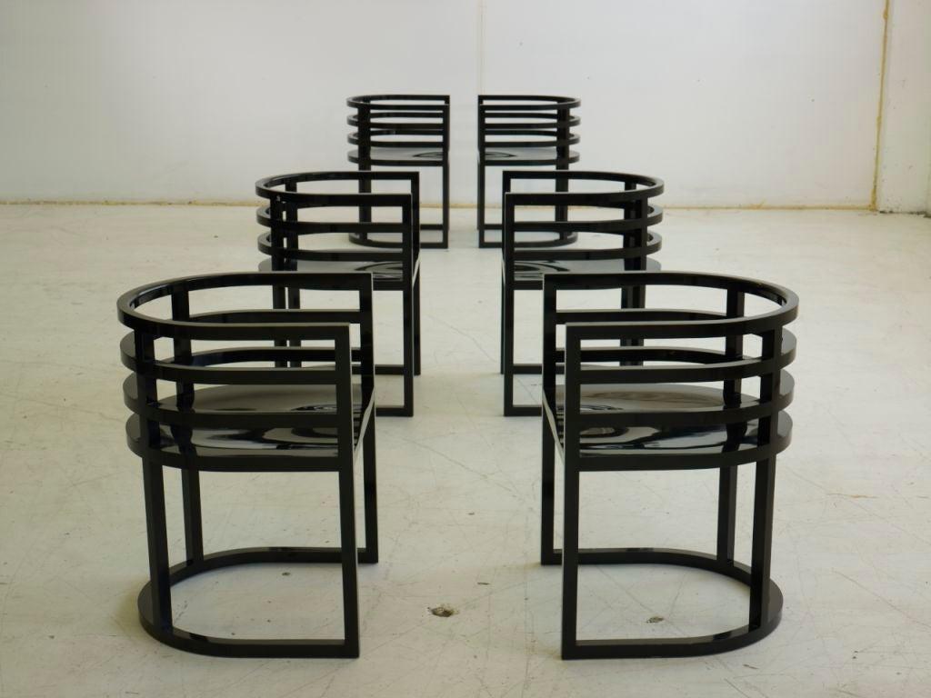 Richard Meier Dining Set 9