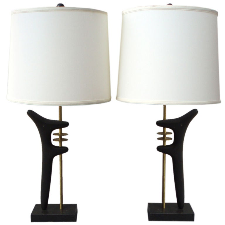Isamu Noguchi Tribute Lamps by Frederick Weinberg at 1stdibs