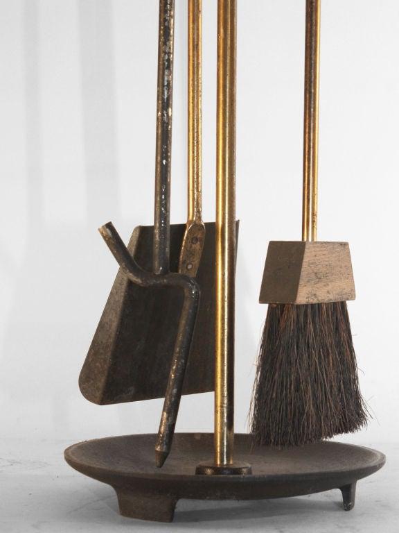 1950 39 S Mid Century Modern Fireplace Tool Set At 1stdibs