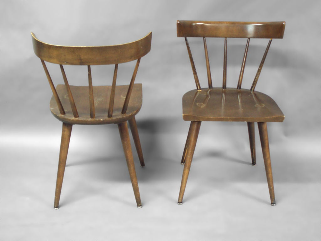 Set Of Twelve Maple Dining Chairs By Paul McCobb At 1stdibs