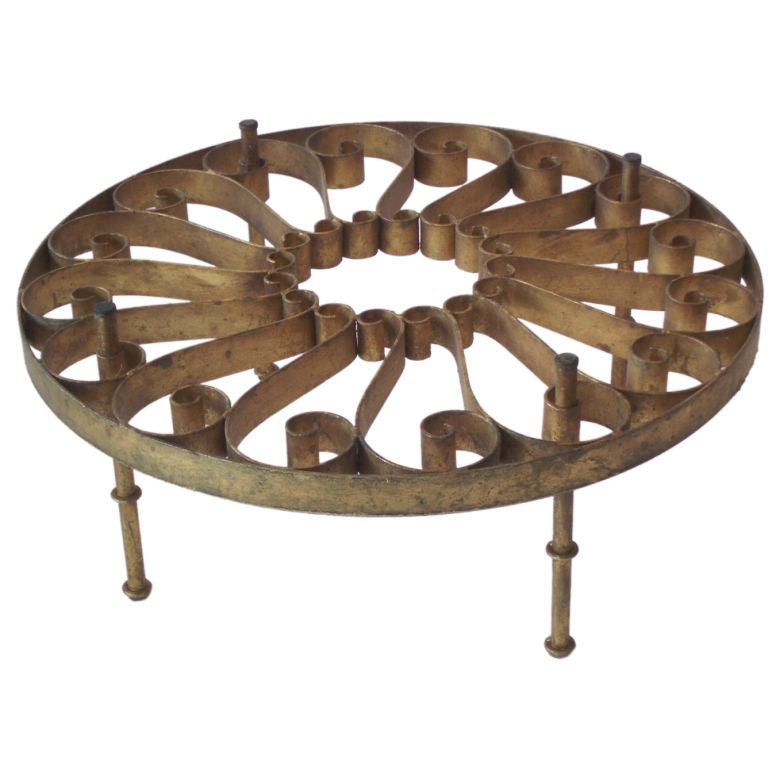 Xxx wrought iron scoll table Wrought iron coffee table bases