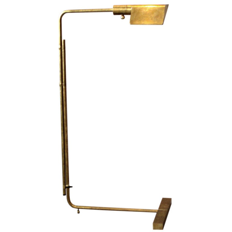 Wall Lamp Height From Floor : Adjustable Height Floor Lamp by Cedric Hartman at 1stdibs