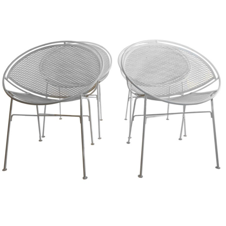 5 Pc Salterini Patio Dinette Set At 1stdibs