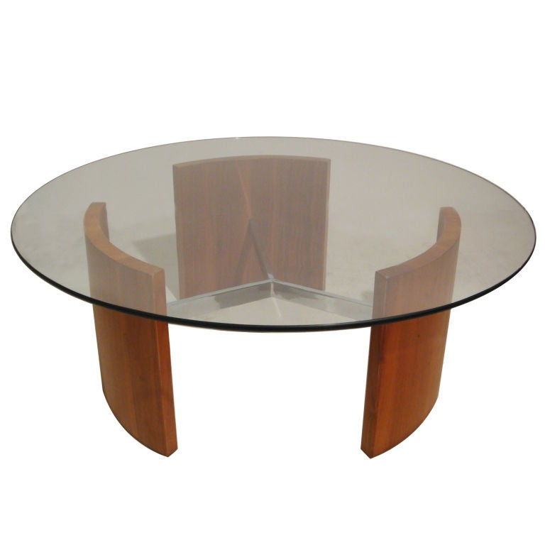 Vladimir Kagan Radius Coffee Table At 1stdibs