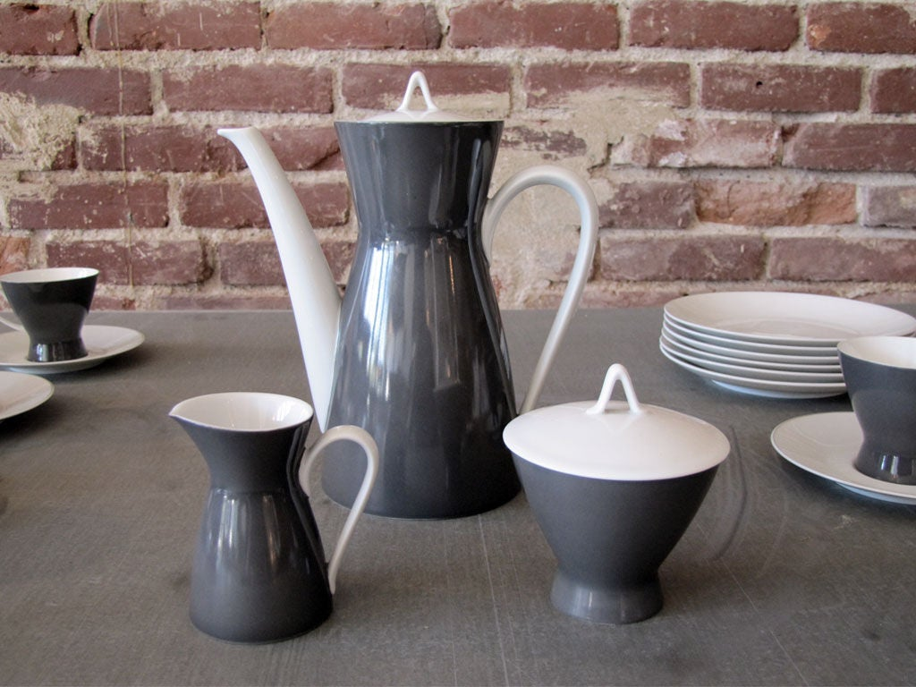 Raymond Loewy After Dinner Coffee Set For Quot Rosenthal 2000