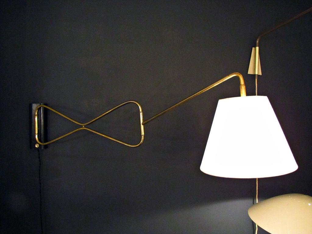 Yasmin Wall Light 2 Arm : Austrian Swing Arm Wall Light at 1stdibs