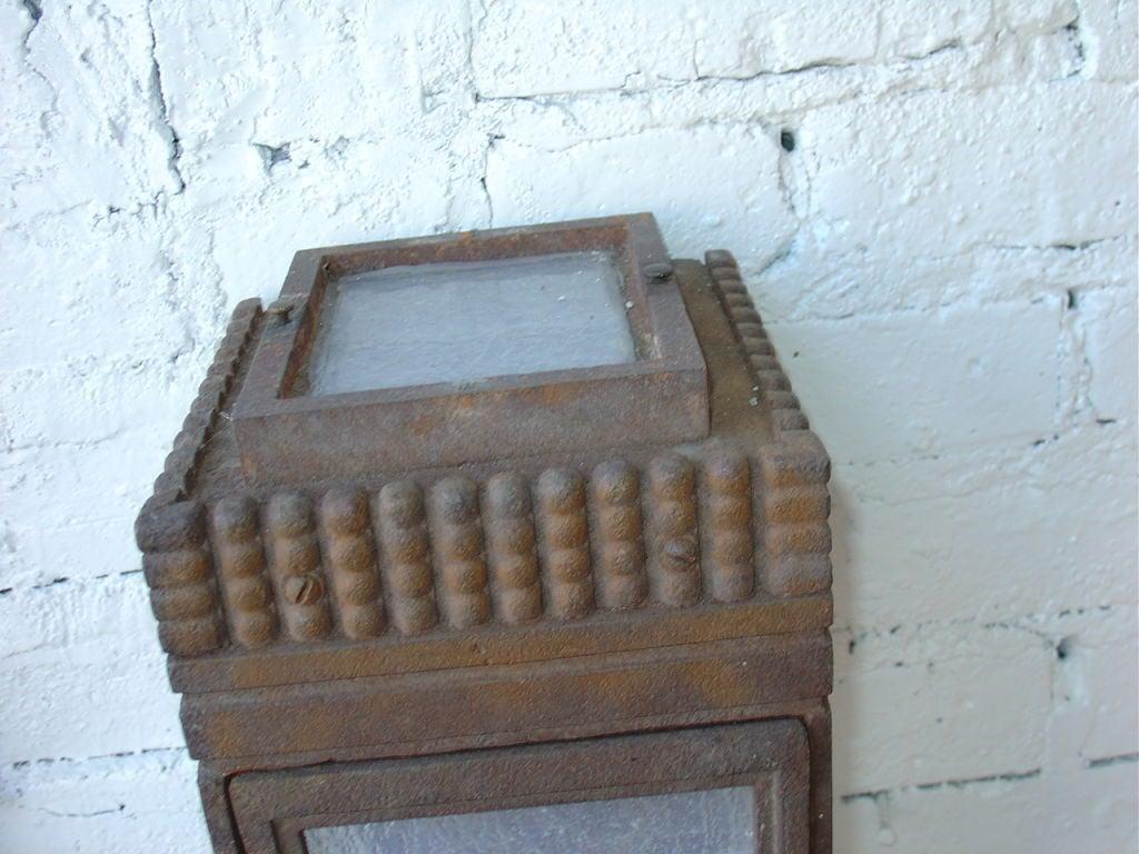 art deco coach light at 1stdibs. Black Bedroom Furniture Sets. Home Design Ideas